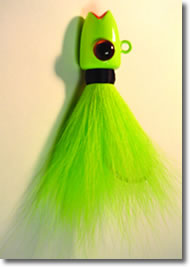 Big Eye Ruby Lip Bucktail