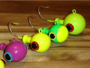 Cannon Ball Mojo Jig Head Painted