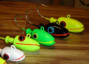 Jig Heads Painted