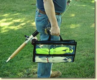 20 inch 4 pocket parachute bag