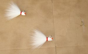 Ruby Lip Bucktail Tandem Rig
